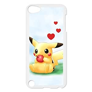 Custom Pikachu Back Cover Case for ipod Touch 5 JNIPOD5-166