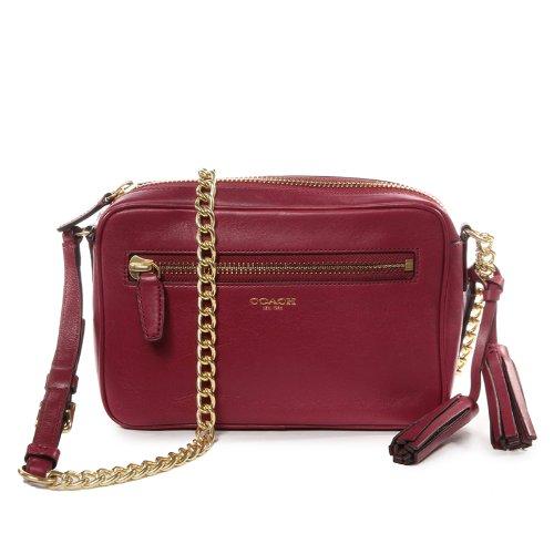 dac953d059 Coach Legacy Leather Flight Bag Deep Port  Handbags  Amazon.com