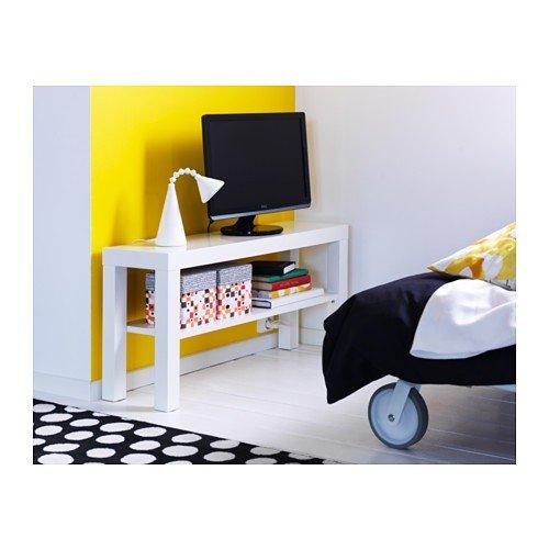 ikea lack banc tv avec infrieur blanc x x cm amazonfr cuisine u maison with meuble tv lack - Meuble Tv Ikea Lack Blanc