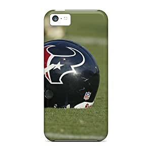 Snap-on Houston Texans Helmet Skin Compatible With Case For Iphone 5C Cover