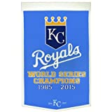 Kansas City Royals World Series Championship Dynasty Banner - with hanging rod