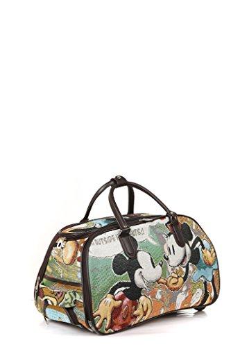 Cartoon Design Weekend Holdall (M), Trolley Bag, Hand Luggage (49L X 30H 27W, MULTICOLOUR)