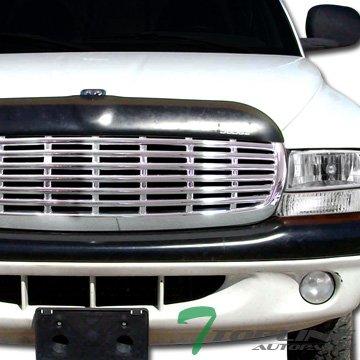 Spec-D Tuning HG-DAK97C-JY Dodge Dakota Sport Base Durango Rt Slt Chrome Front Grill Grille 2003 Dodge Durango Grille