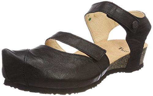 00 Kessy Think Sandals Closed Schwarz Toe Schwarz 00 Black Women's 282376 156qUv5