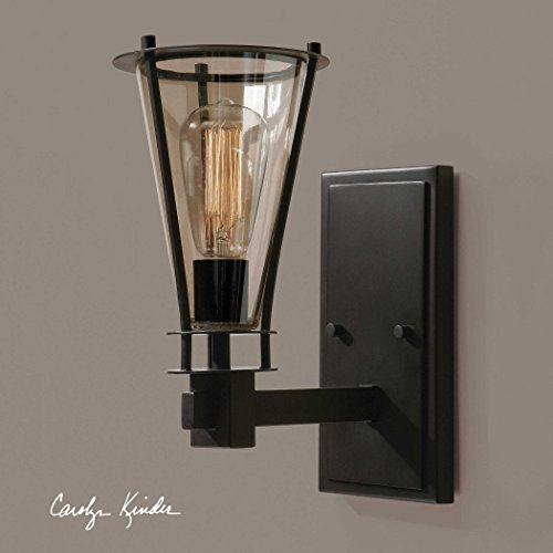 Frisco Collection (1 Light Rustic Wall Sconce the Frisco Collection Sconce / Vanity Lights)