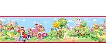 Strawberry Shortcake Repositionable Wall -