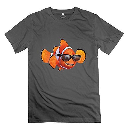 Geek Finding Nemo 2 Men's Tshirt DeepHeather Size XS -
