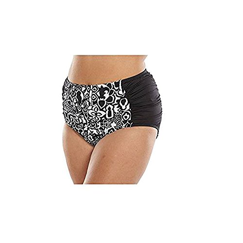 9df98dcef69 Plus Size Apt. 9 Striped High-Waisted Brief Bottoms