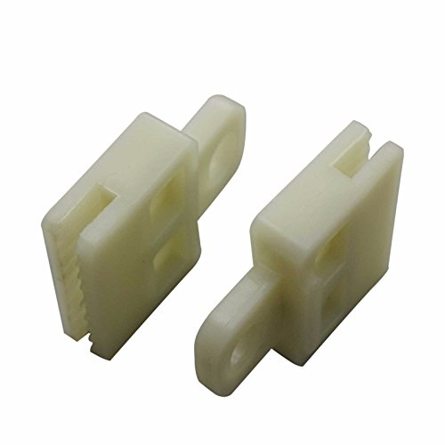 2 Pieces Window Regulator Glass Channel Slider Sash Connector Clips for TOYOTA