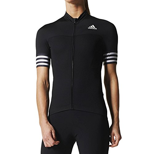 adidas Performance Womens Cycling Jersey - Black - 2XS - Adidas Bicycle