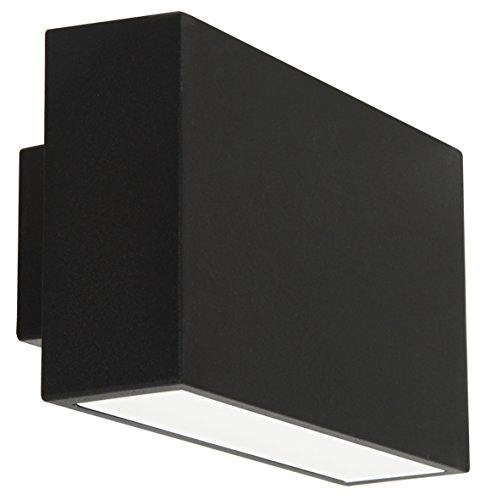 Ranex 5000.485 LED Wand Außenleuchte mit up und down light, 412 Lumen, warm weiß