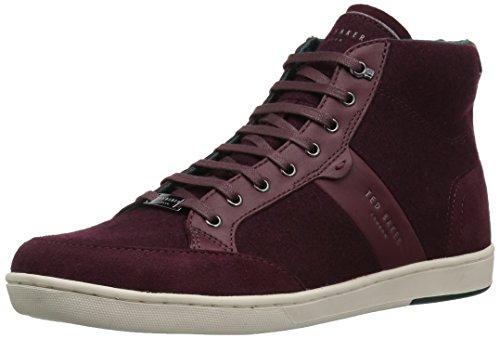 (Ted Baker Men's MIYKAL Sneaker, Dark red, 8 M US)