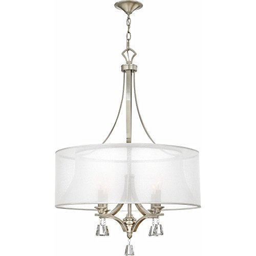 Fredrick Ramond FR45604BNI Four Light Chandelier