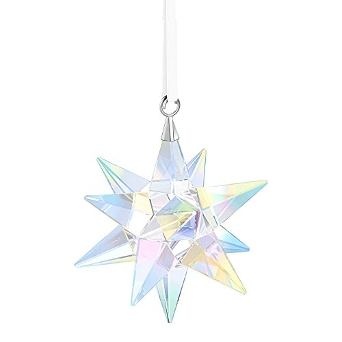 Aurora Borealis Shimmers (Swarovski Star Ornament, Crystal AB. 2017)
