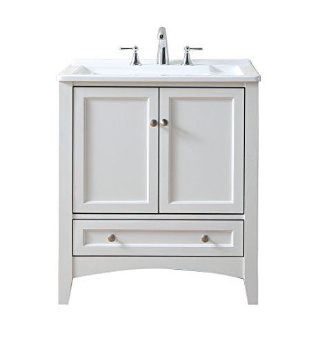 Stufurhome GM-Y01W 30.5-Inch Pure White Single Laundry Sink by Stufurhome (Image #2)
