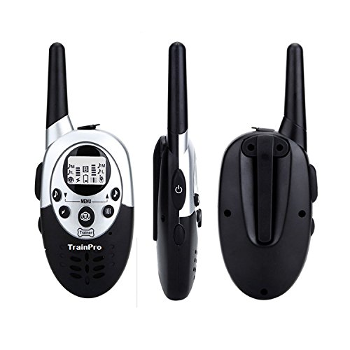 TrainPro Extra Replacement Remote Control Transmitter and Petspy 1100 Yard Dog Training Collars.