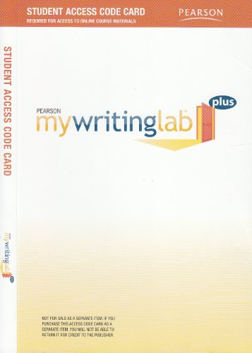 MyWritingLab (ACCESS CODE)