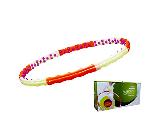 Health Hoop®-passion Hula Hoop Magnetic Massage3.97lb 1.8kg Exercise,fitness Step 2
