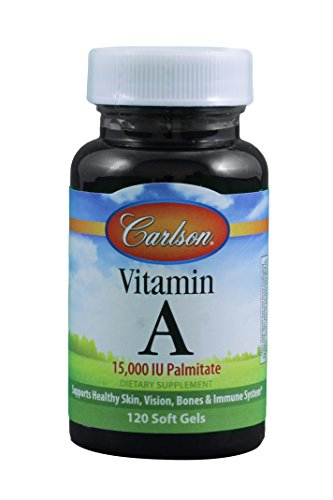 Carlson Labs Vitamin A Palmitate 15000 IU 120 gels