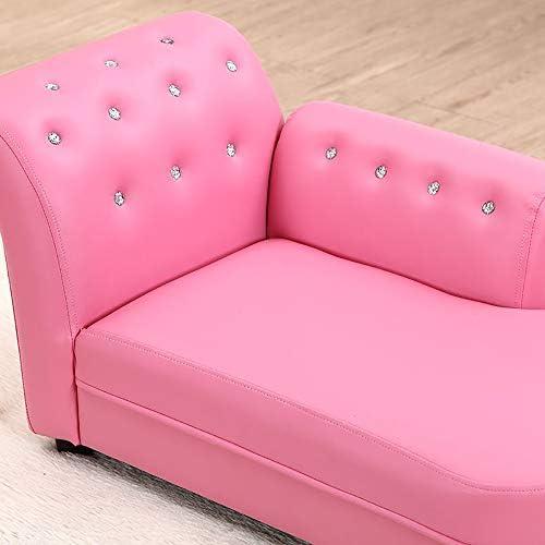 33x18x16inch Bambini Divano Letto Seduta Divano Soft Mobili per Bambini per Soggiorno da Letto Vivaio-Cielo Blu 83x45x40cm Chaise Lounge WJH Divano per Bambini