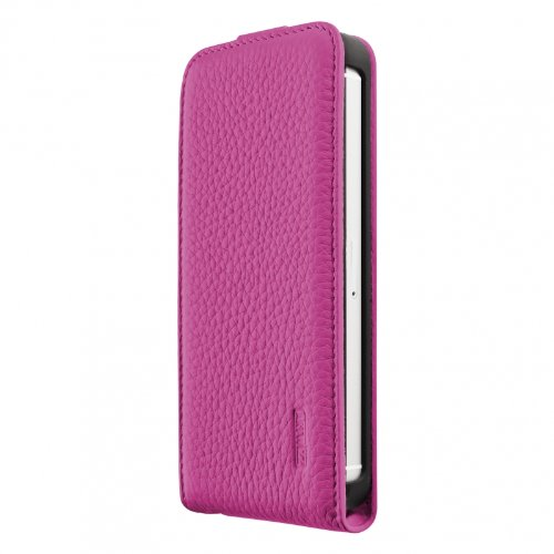 Artwizz 9663-SJLF-PL-P5-PK Artwizz SeeJacket Leather Flip für Apple iPhone 5/5S (rosa )