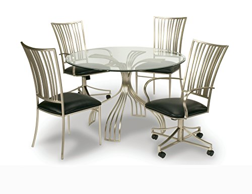 """Milan RD484812BEC 48"""" x 48"""" Round Glass Table Top with 1"""" Be"""