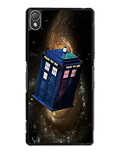Popular Quote Doctor Who Sony Z3 Funda Case,Doctor Who Phone Funda Case Black Hard Plastic Funda Case Cover For Sony Xperia Z3 - By IRTHloi
