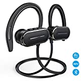 Bluetooth Headphones, HSPRO Wireless Sport Earbuds, 8GB Built-in Memory MP3 Player, IPX5 Sweatproof Running Workout Headphones w/Mic, HD Stereo Sound Sport Earphones Earbuds, 12H Playtime