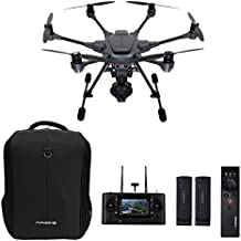 Yuneec Typhoon H Pro with Intel RealSense Technology - 4K Collision Avoidance Hexacopter Drone, Carbon Fiber (YUNTYHBRUS)
