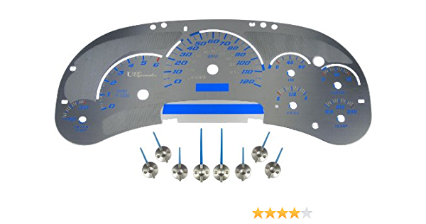 Dorman 10-0108B Stainless Steel Instrument Cluster Upgrade Kit
