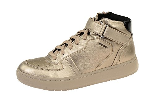 Geox D Nimat a, Zapatillas Altas para Mujer Gold (Champagne/TAUPECB5Q6)