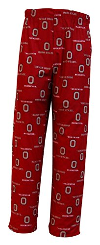 NCAA by Outerstuff NCAA Ohio State Buckeyes Youth Boys Team Color Printed Pant, Red, Youth X-Large(18) ()