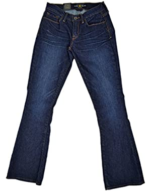 Women's 'Sofia Boot' Blue Denim Jeans, Boot Cut, Size 0/25 Ankle