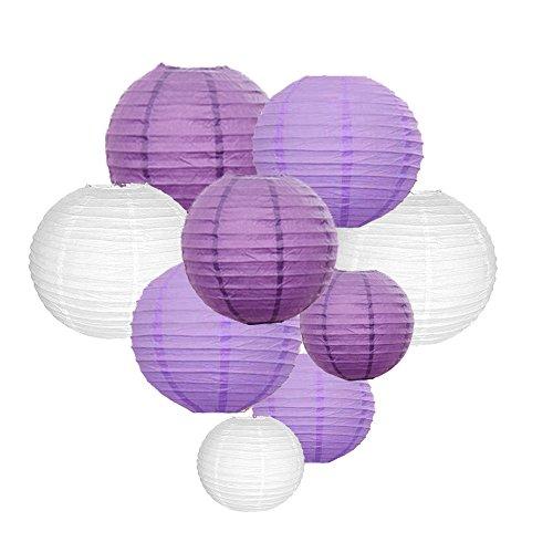 Sonnis-Paper-Lanterns-1210-8Round-lanterns-for-Birthday-Wedding-Christmas-Party-Decorations-Purple