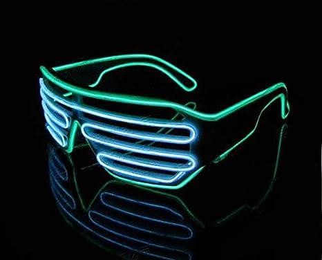 Starcrafter 2 colori el atzen occhiali a led si illuminano a ritmo