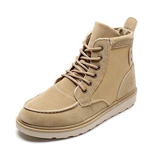 le Boots for Men Autumn High-top Antiskid Lightweight Combat Boots ()