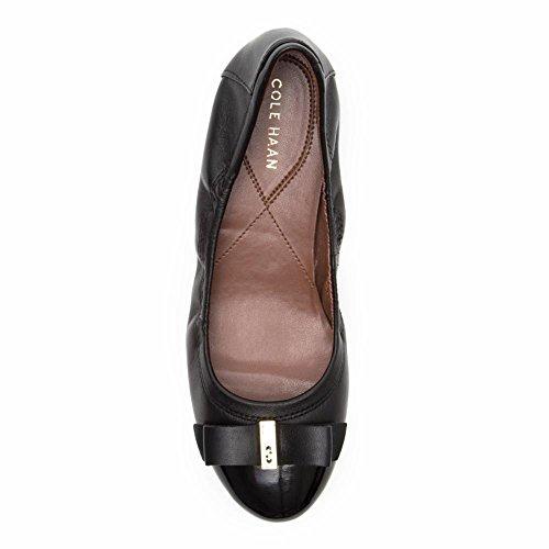 cheap sale cost wholesale price cheap online Cole Haan Women's Elsie II Ballet Flat Black/Black Patent QLmFF9F8I