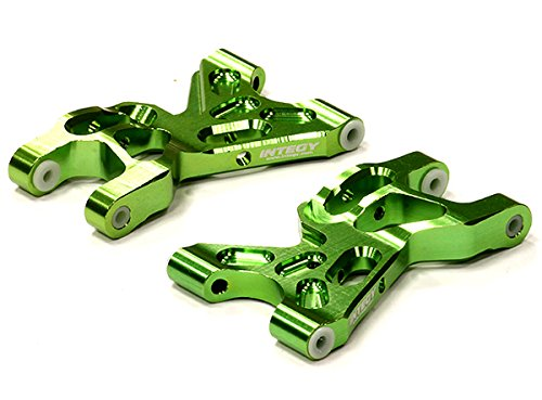 Integy RC Model Hop-ups T5011GREEN Billet Machined Lower Suspension Arm (2) for HPI Savage XS Flux (Lower Arms Savage)