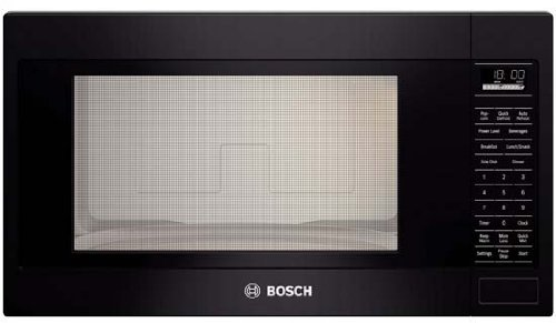 Bosch Countertop (Bosch HMB5061500 2.1 Cu. Ft. Black Built-In Microwave)
