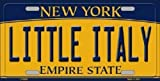 Nicholas Dunlop Little Italy New York Background Novelty Metal License Plate