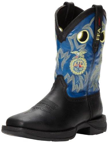 Durango Men's Rebel FFA DB024 Western Boot,Black/Blue,9.5...