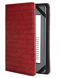 Verso Artist Series Cities Red by Sharyn Sowell for Kindle (Red) (fits Kindle Paperwhite, Kindle, and Kindle Touch) by Accessory (B008MF3QMO) | Amazon Products
