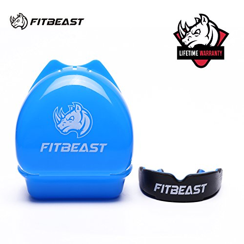 FitBeast Mouth Guard Sports Mouthguard Gum Shield for boxing, MMA, rugby, soccer, lacrosse, basketball, muay thai, hockey, karate martial arts and all contact sports, Youth & Adult Sizes With case – DiZiSports Store