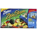 ZIPLOC ZIP N STEAM BAG-MEDIUM (Pack of 2)