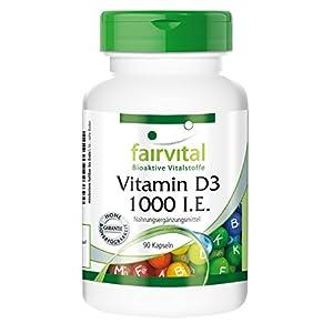 Vitamine D3 1000 U.I. (25mcg) cholécalciférol – 90 gélules
