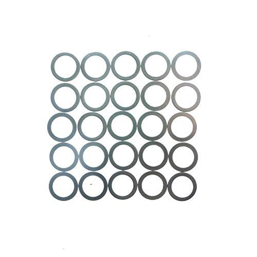 Chainring Spacer - Juscycling Middle Chainring Spacer 0.5 0.8 2 5 mm , 25pcs/bag (0.8mm)