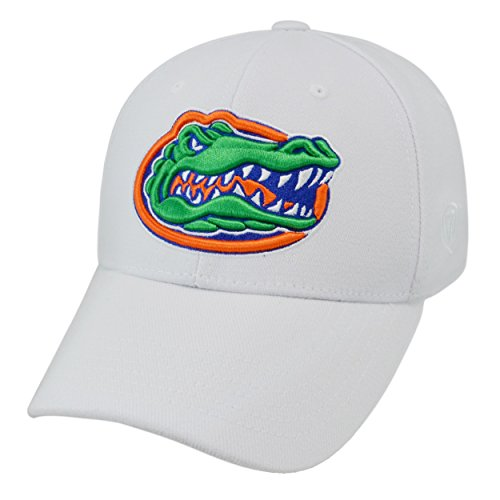 Top of the World NCAA-SEC Conference-Premium Collection-OneFit-Memory Fit- Size: L/XL-Florida Gators-White