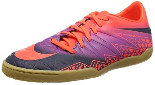 Nike Herren 749898-845 Hallenfußballschuhe Mehrfarbig (Pures Karmesinrot/Lebhaftes Lila/Obsidian)