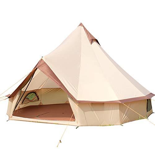 DWJ-Z Camping Zelt, Kirchturm Draussen Fett Gedruckt Gedruckt Gedruckt Wasserdicht Groß 3-10 Personen Jurte B07Q2141DM Zelte Liste der Explosionen 3c0411