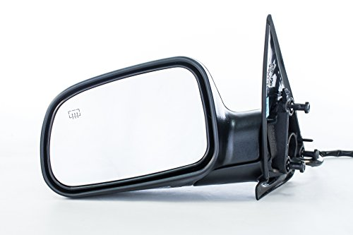 Driver Side Mirror Jeep Grand Cherokee (1999 2000 2001 2002 2003 2004) Power Adjusting Textured Heated Folding Left Replacement Door Mirror